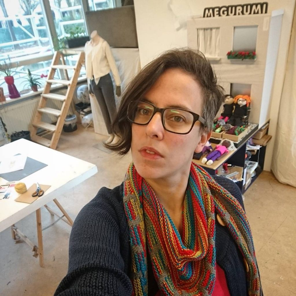 Leslie Eisinger, knitter, nerd, designer
