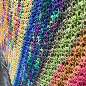 Colors of Life Shawl