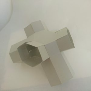 Model van metamateriaal