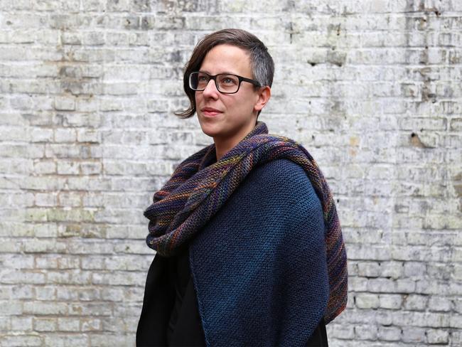 Parallellogram sjaal, Leslie Eisinger, Knotten Designs Collectables.