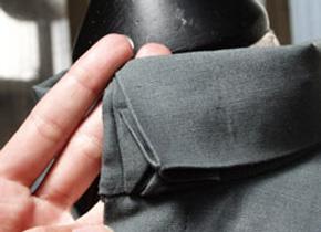 2011 – Overhemd met origami details, maatwerk