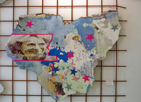 Leslie Eisinger, gebreid portret, Prinses Irene, Irenetunnel, Graffitikunst